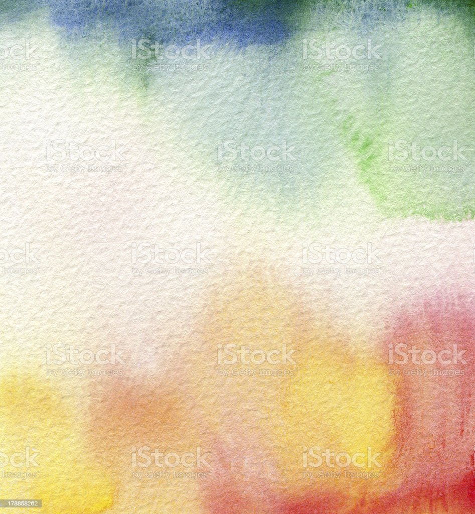 Abstract textured watercolor paint. royalty-free stock vector art
