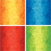 Set of Vector Textured Backgrounds.