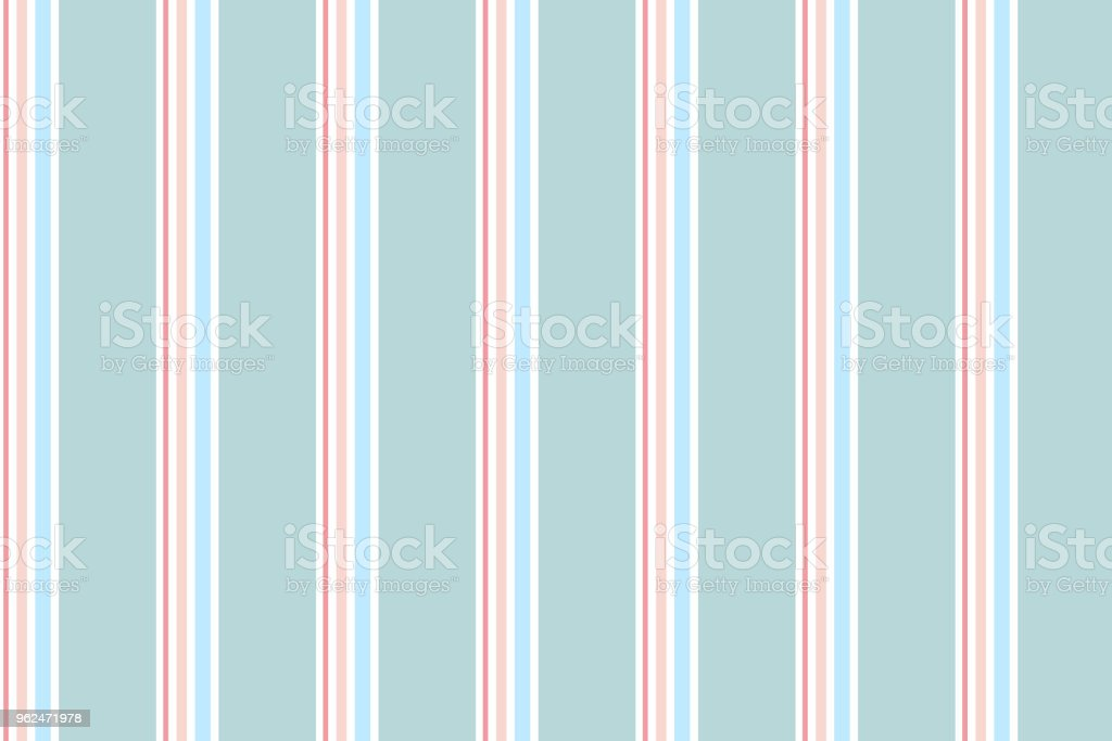 Abstract vertical striped pattern with green pastel colour vector art illustration