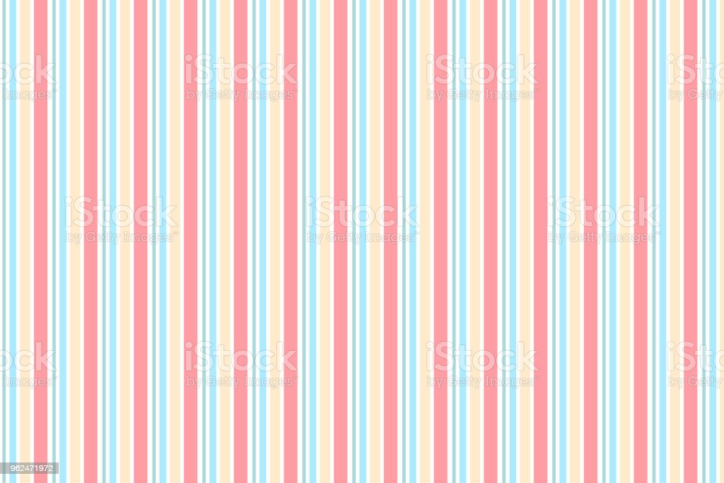 Abstract vertical striped pattern with pastel colour vector art illustration