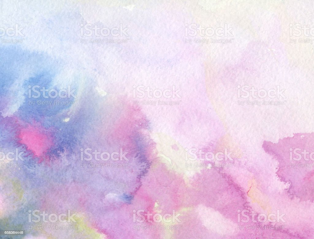 Fondo abstracto acuarela - ilustración de arte vectorial