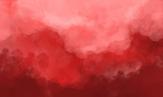 Abstract Watercolor Background - Orange and Red Soft Grunge