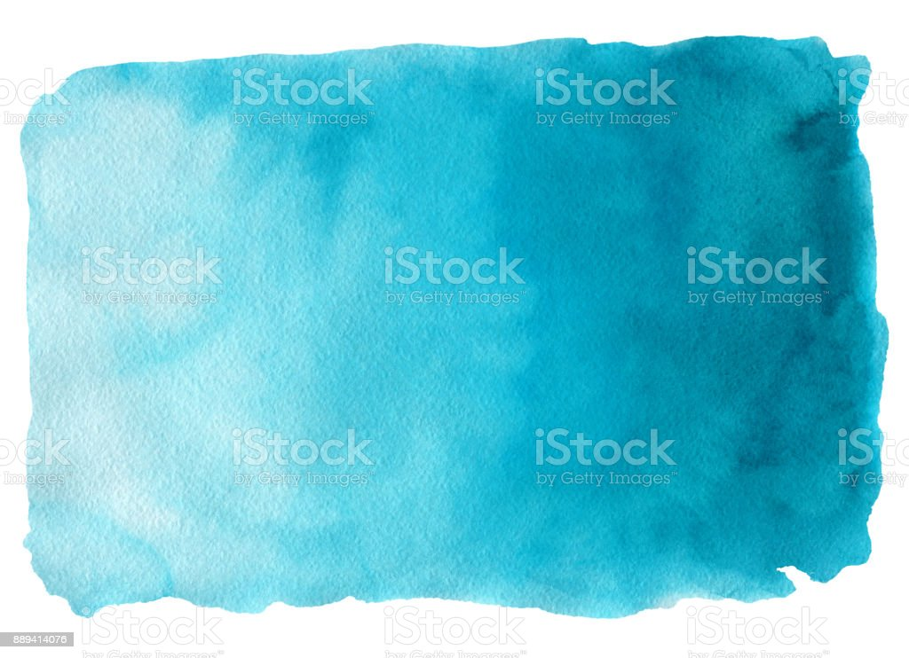 Abstract watercolor hand drawn background vector art illustration