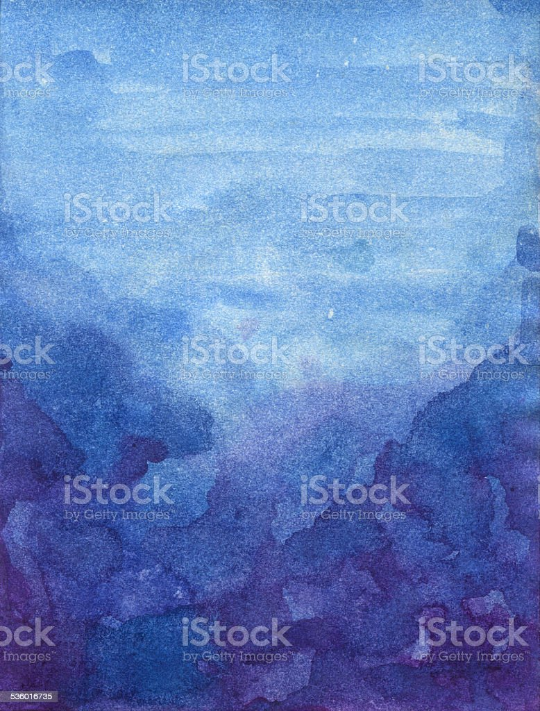 Abstract Watercolor Texture vector art illustration