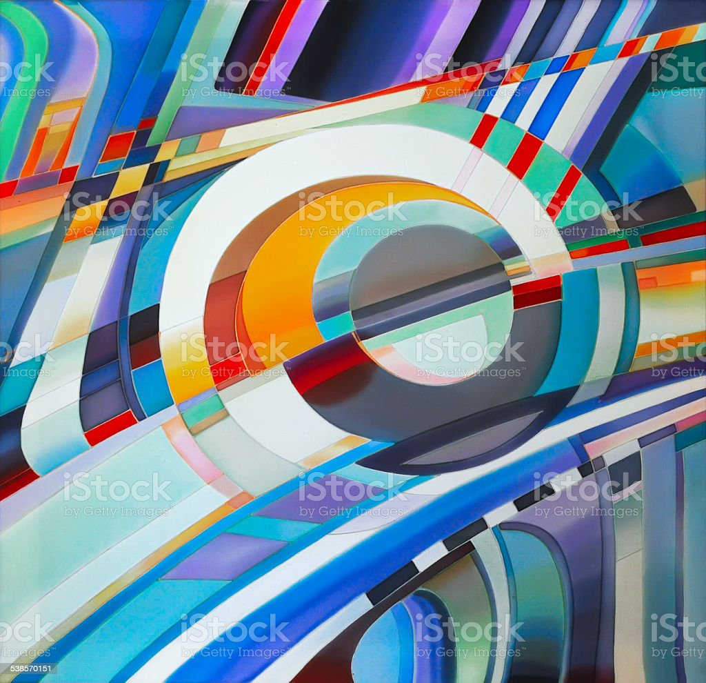 Abstract watercolor texture. Painted silk, batik textiles. Colorful streaks vector art illustration