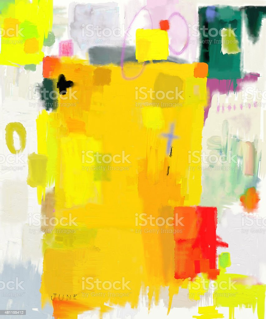 Abstraction vector art illustration