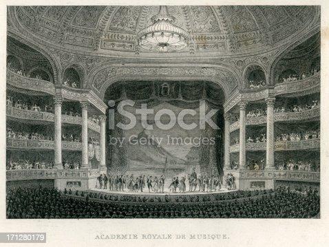 istock Academie Royale Du Musique, Paris 171280179