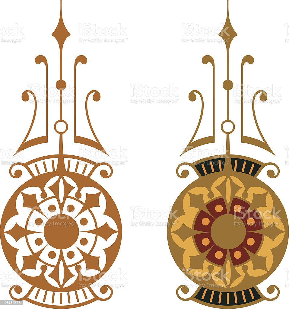 Accent 2-72904 (Vector) royalty-free stock vector art