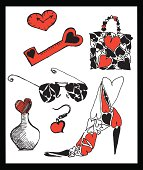 vector ladies accessories