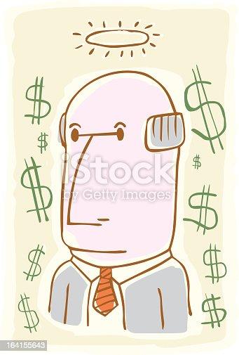 istock Accountant Angel 164155643