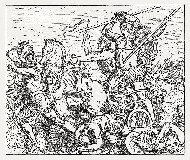 Royalty Free Trojan War Clip Art, Vector Images