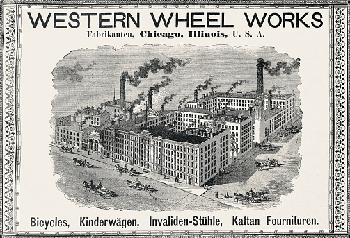 Ad for Western Wheel Works, Chicago