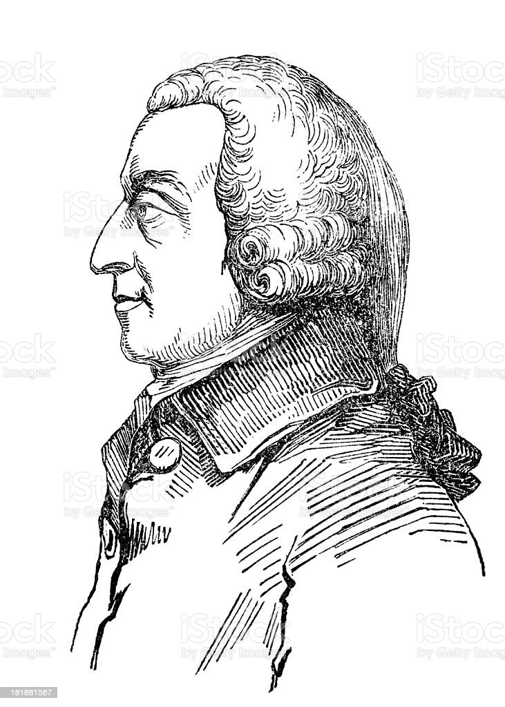 Ilustración de Adam Smith y más banco de imágenes de Clip Art ...