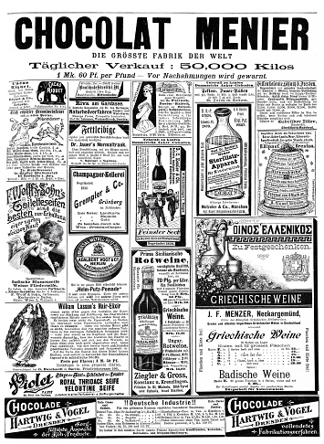 Ads from 1892