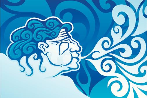 Aeolus king of winds
