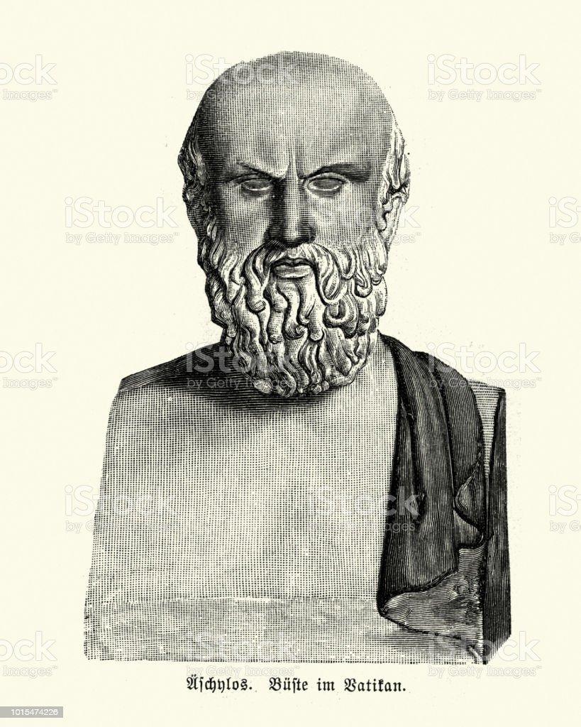 古代ギリシアの悲劇作家アイスキ...