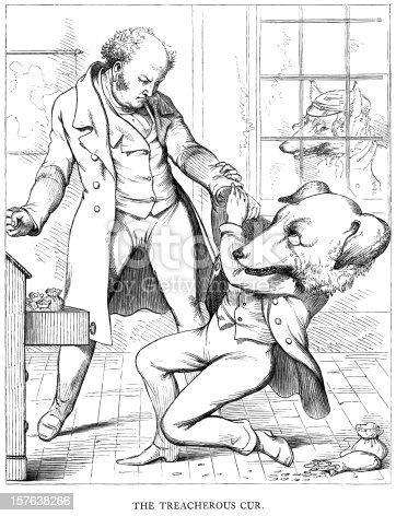 istock Aesop's Fables - The Treacherous Cur 157638266