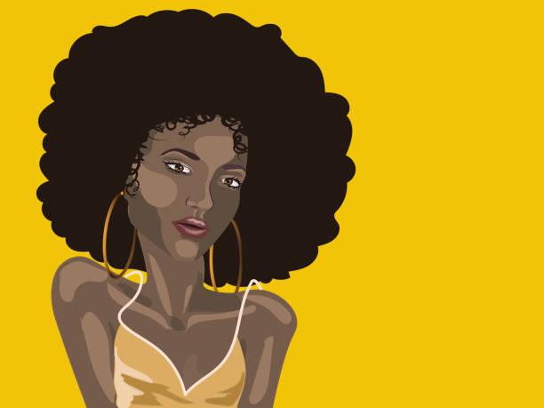 illustrations, cliparts, dessins animés et icônes de fille d'été africaine - modèles de bande dessinée