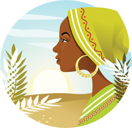 African Woman Stock Illustration - Download Image Now