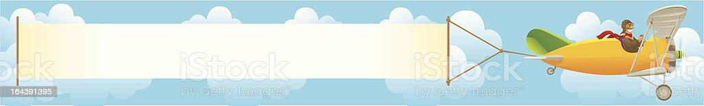 air banner royalty-free stock vector art