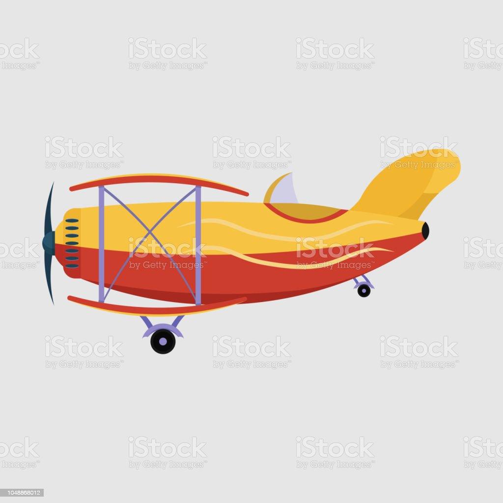 Vliegtuig Vliegen Over De Stad Met Banner Vliegtuig Reizen In T