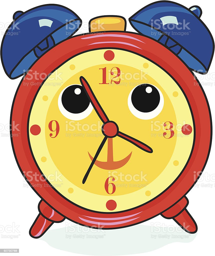 Alarm-Clock vector art illustration