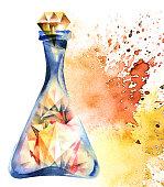 Alchemical magic bottle