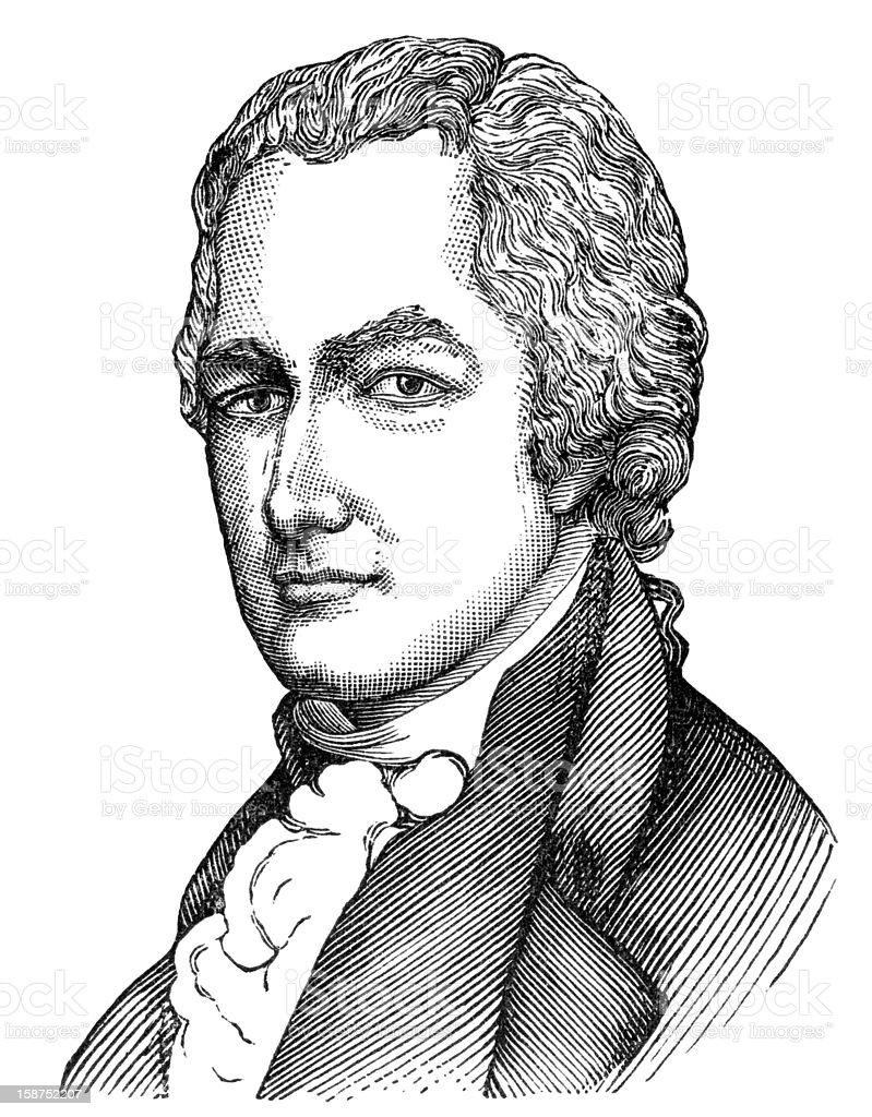 Ilustración de Alexander Hamilton y más banco de imágenes de ...