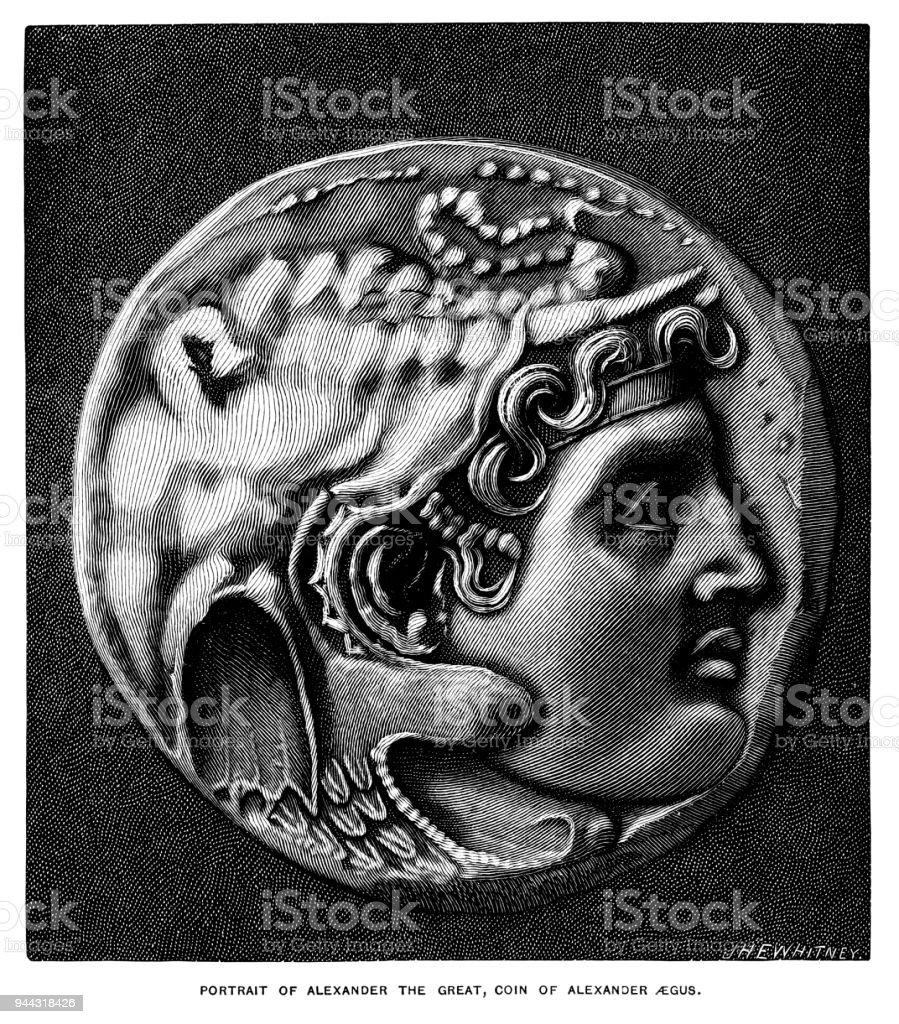 Alexander Der Große Münze Stock Vektor Art Und Mehr Bilder Von 19