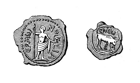 EGYPT, Alexandria. Hadrian coin