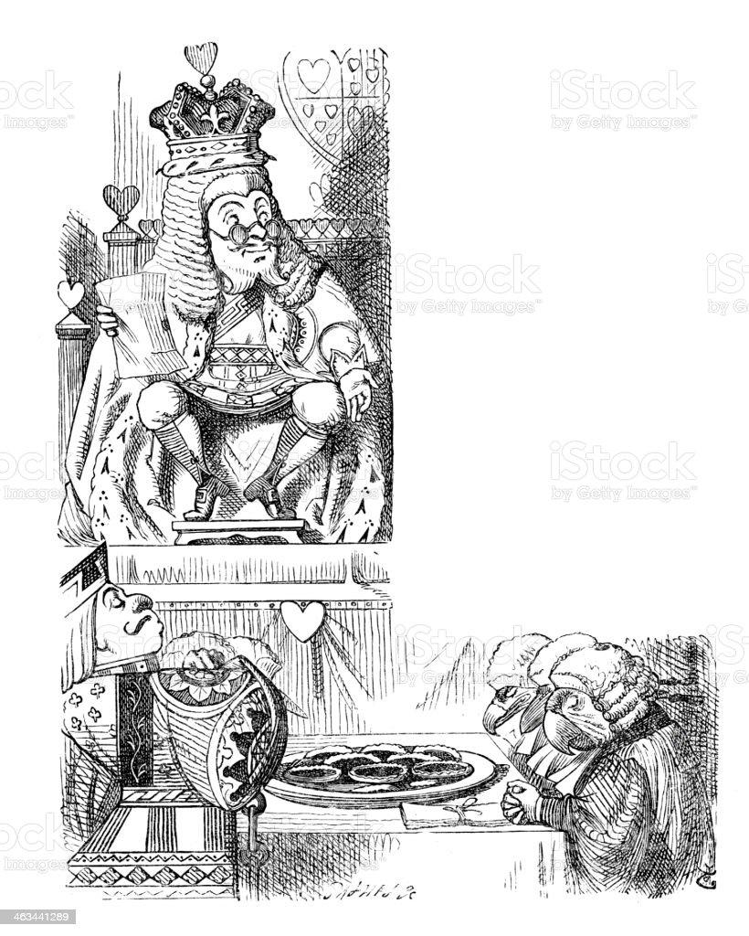 Alice in Wonderland royalty-free alice in wonderland stock vector art & more images of 19th century