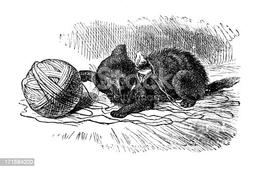 Through The Looking Glass And What Alice Found ThereIllustration by Sir John Tenniel (28 February 1820 aa 25 February 1914)19th Century Illustration