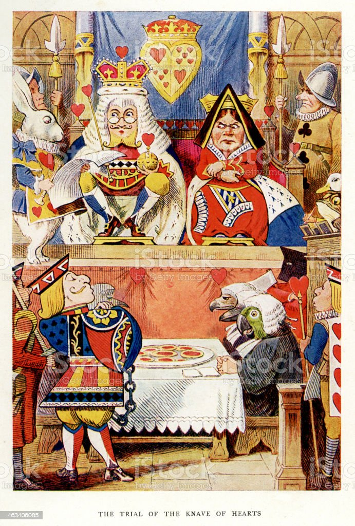 Alices Adventures In Wonderland Stock Illustration - Download Image Now - iStock