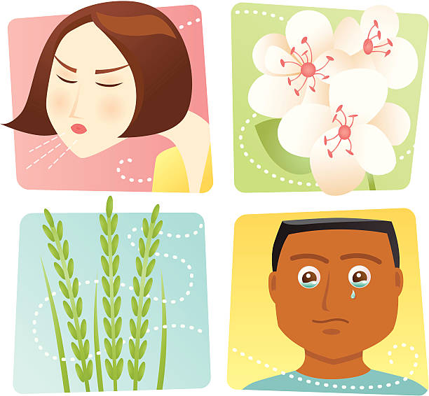 Royalty Free Hay Fever Clip Art, Vector Images ...
