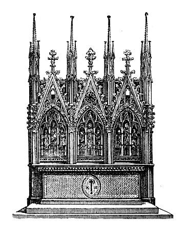 Altar of the Church of St. Elizabeth at Marburg