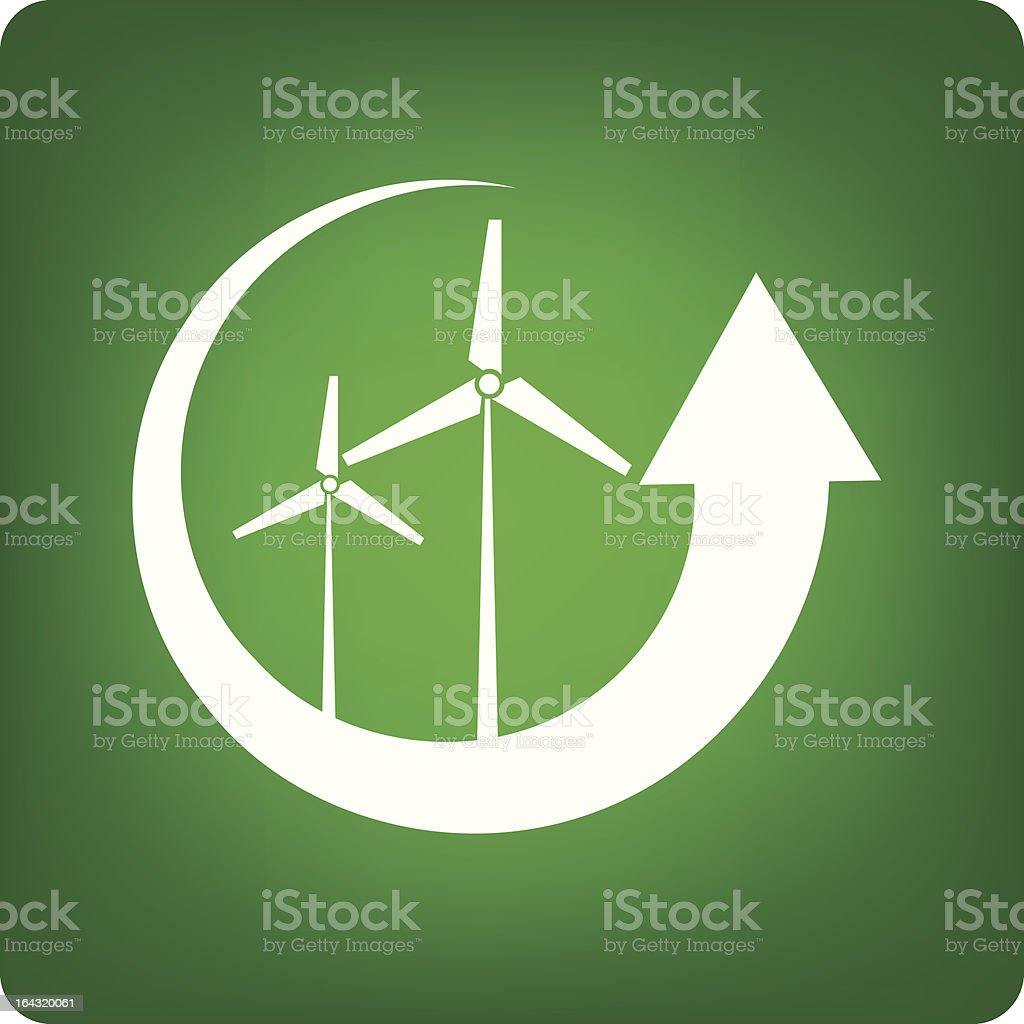Alternative energy royalty-free stock vector art