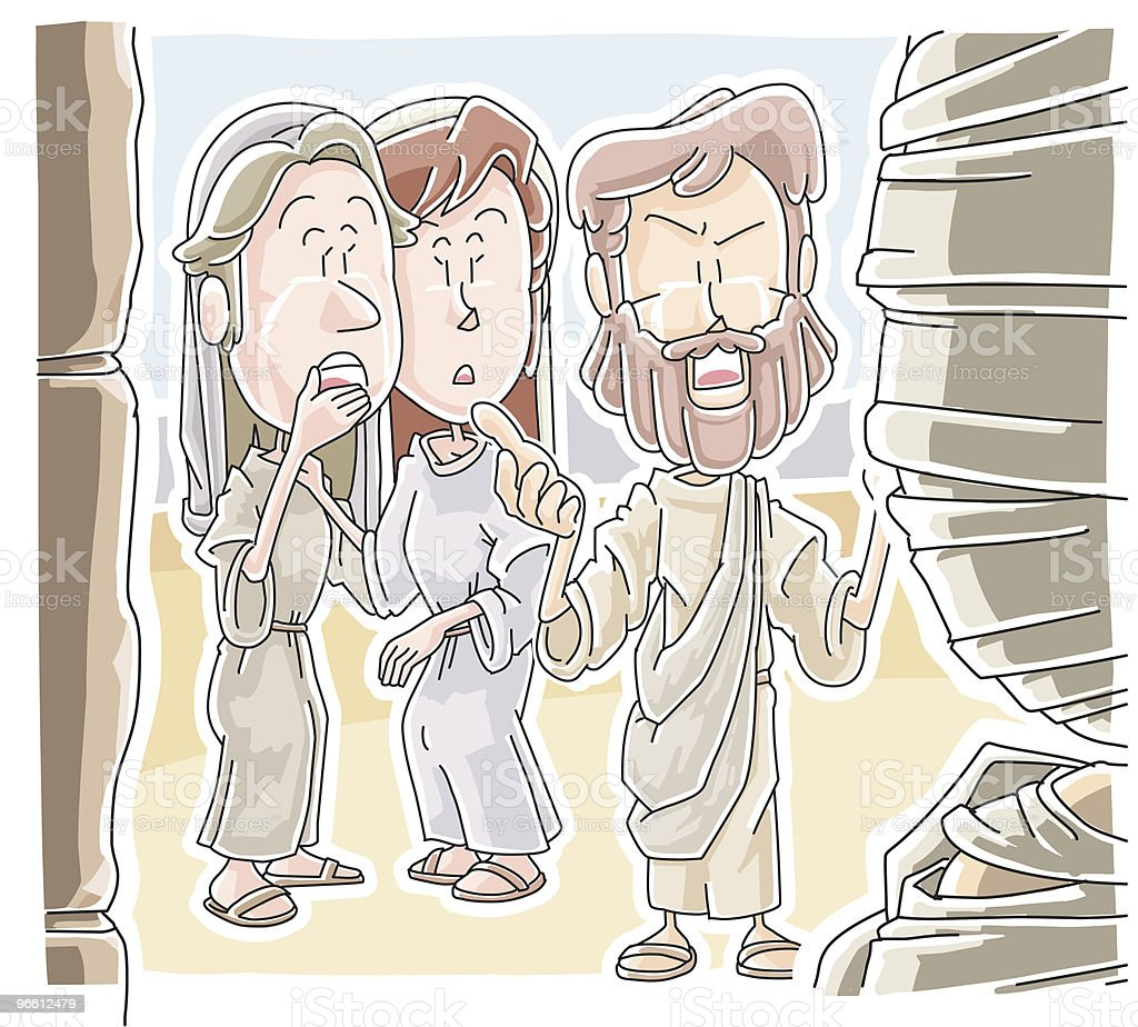 Ich bin die Auferstehung Christi - Lizenzfrei Auferstehung - Religion Vektorgrafik