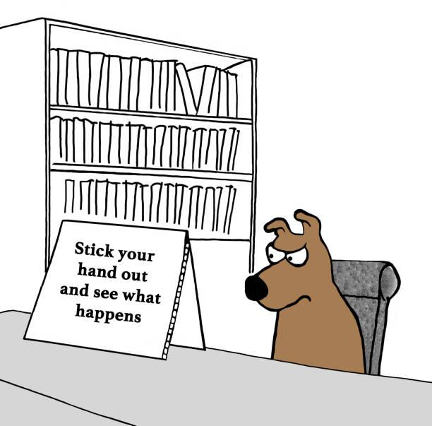 ambiguous message vector art illustration