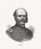 Ambrose Burnside, Union Army general during the American Civil War