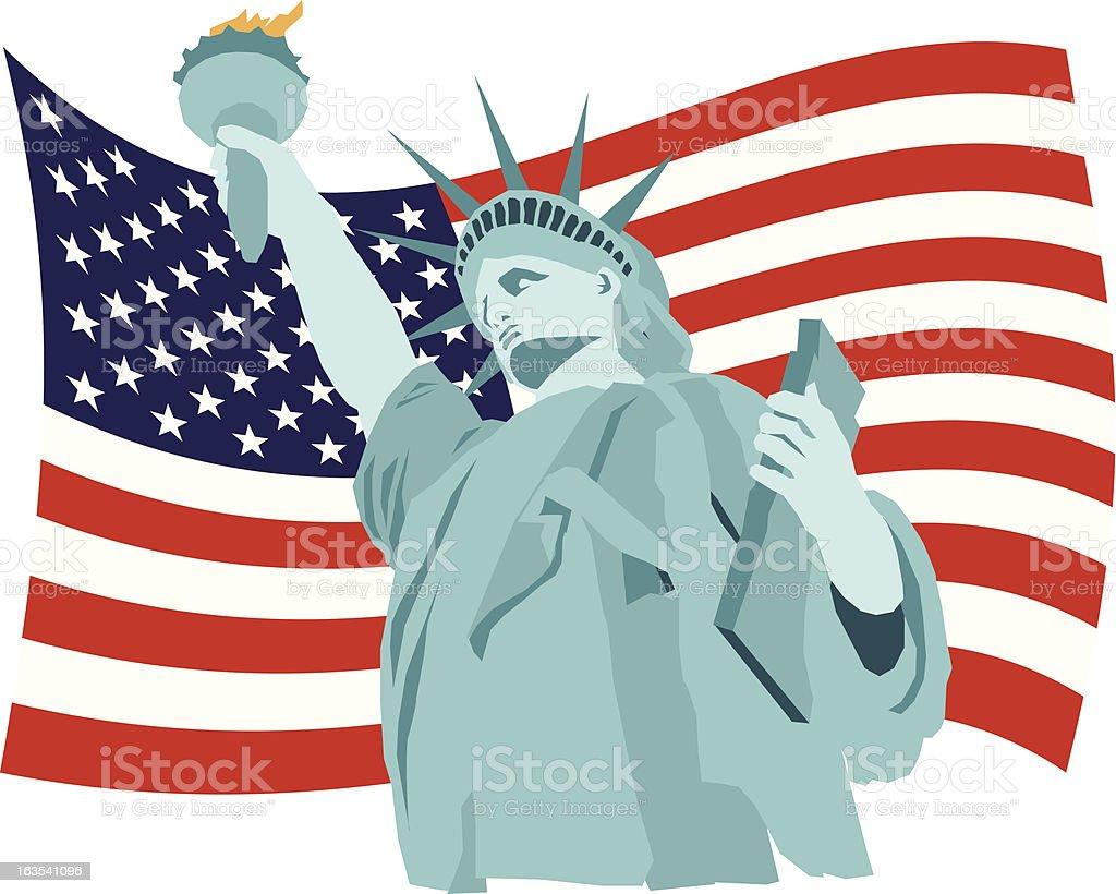 America - Illustration vectorielle