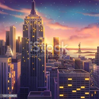 Video Game's Digital CG Artwork, Concept Illustration, Realistic Cartoon Style Scene Design