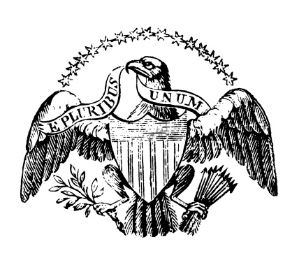 American Eagle   Early Woodblock Illustrations