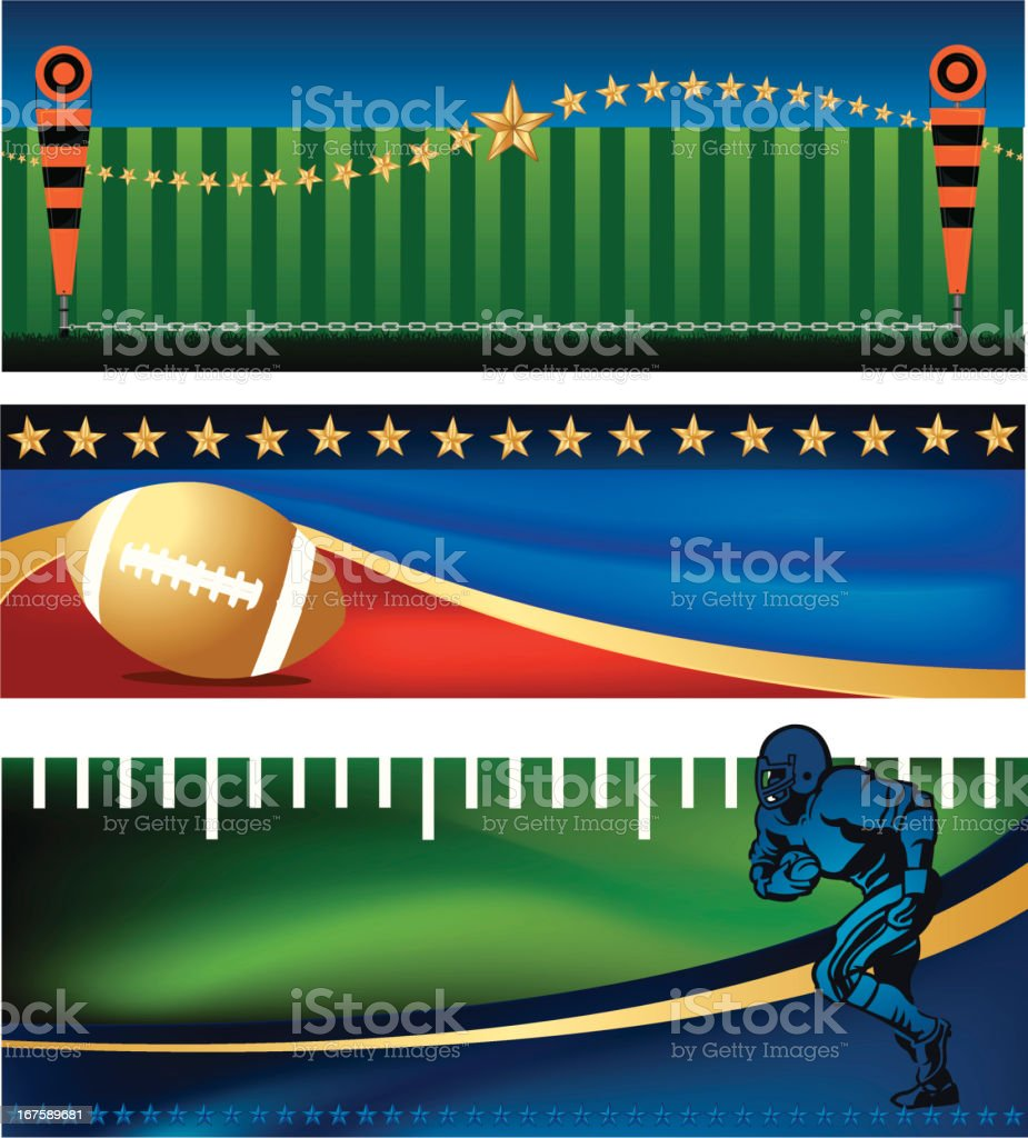 American Football Banner Designs royalty-free american football banner designs stock vector art & more images of all star