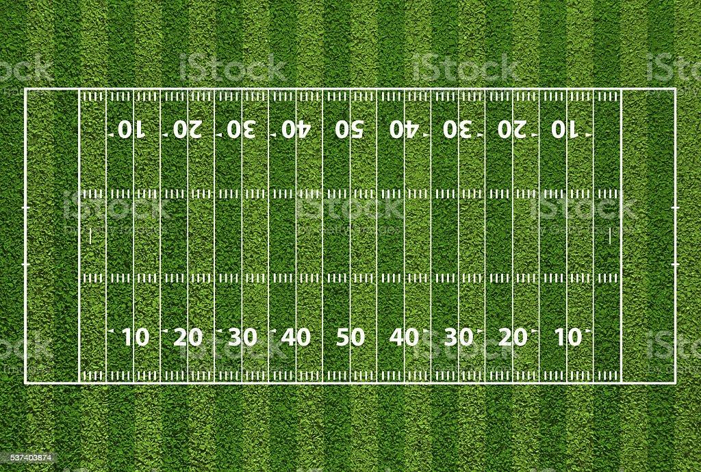 royalty free football field clip art vector images illustrations rh istockphoto com football field goal clipart football field clipart png