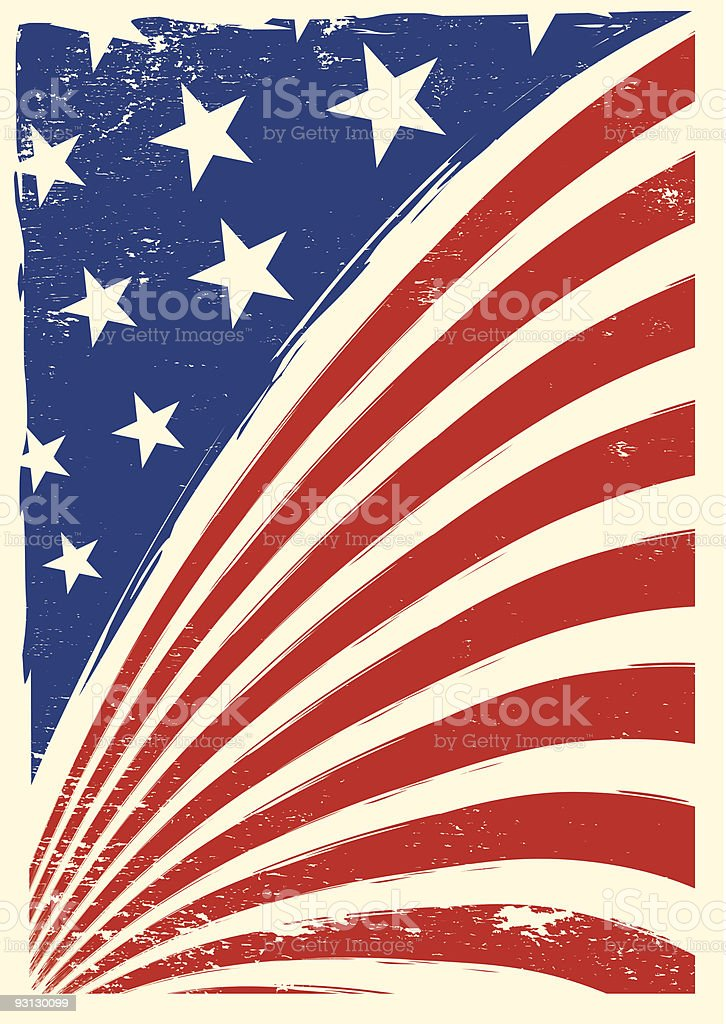 american grunge flag royalty-free american grunge flag stock vector art & more images of abstract