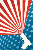 american gun rights background