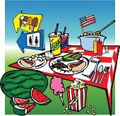 American Picnic Foods