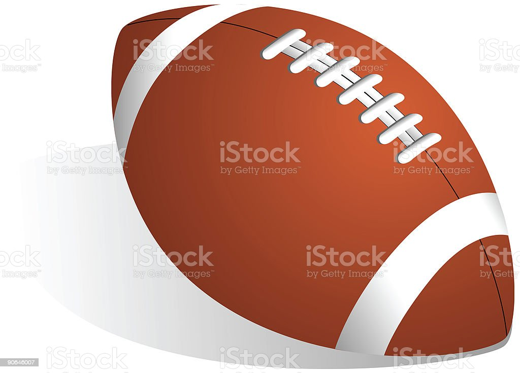 American Pro Football - Vector royalty-free stock vector art