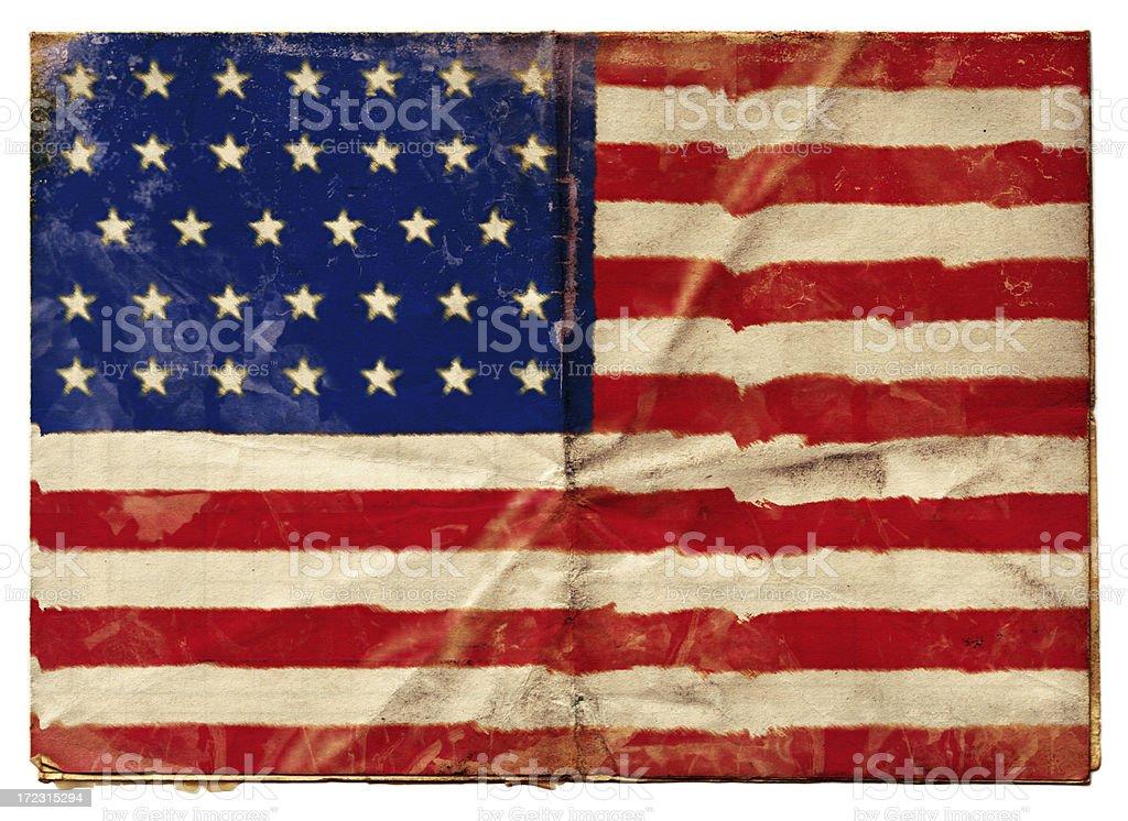 American Union Flag (XXL) royalty-free stock vector art
