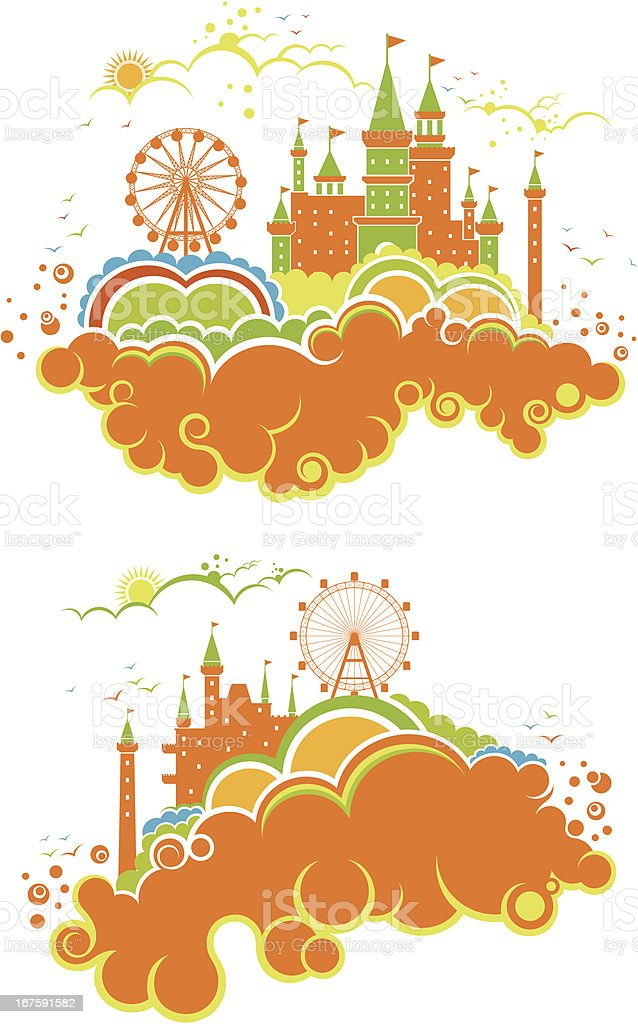 amusement park royalty-free amusement park stock vector art & more images of amusement park
